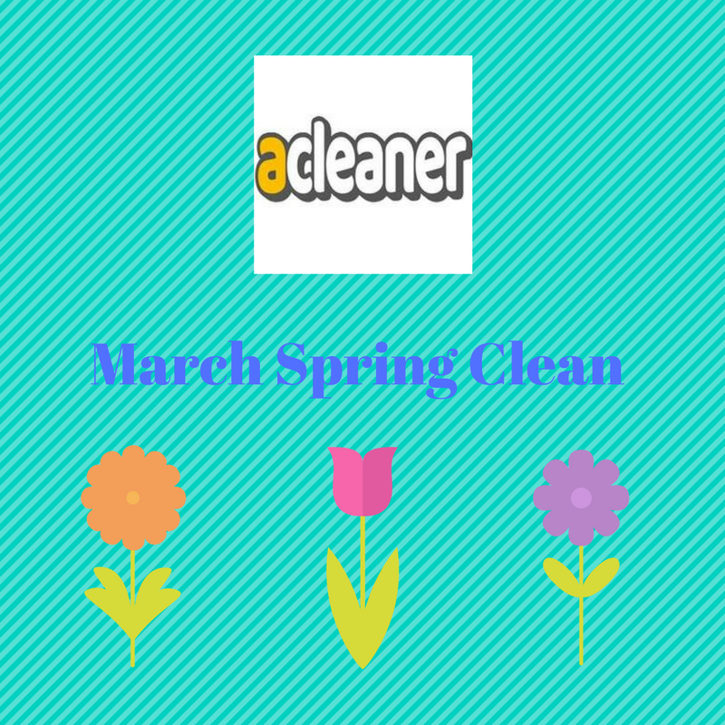 March Spring Clean