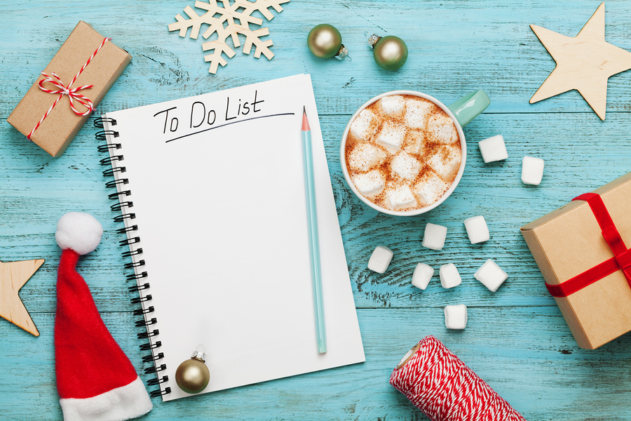 Get organised for Christmas in five easy steps.
